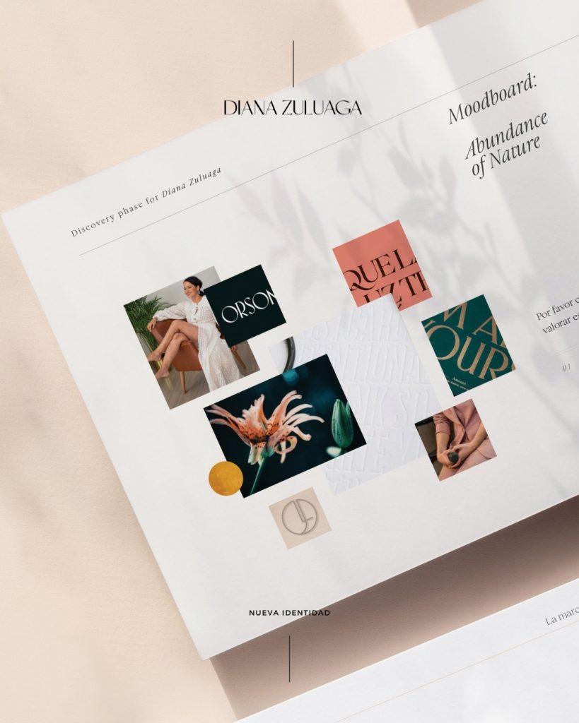 Social media design for Diana Zuluaga