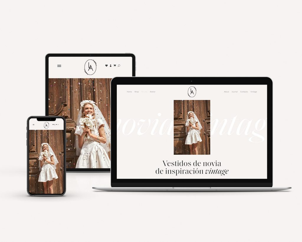 L'Arca Barcelona branding and web by The Visual Corner