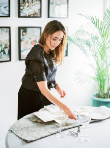 Jasmine Lazarri luxury event planner for The Wedding Co. Portugal