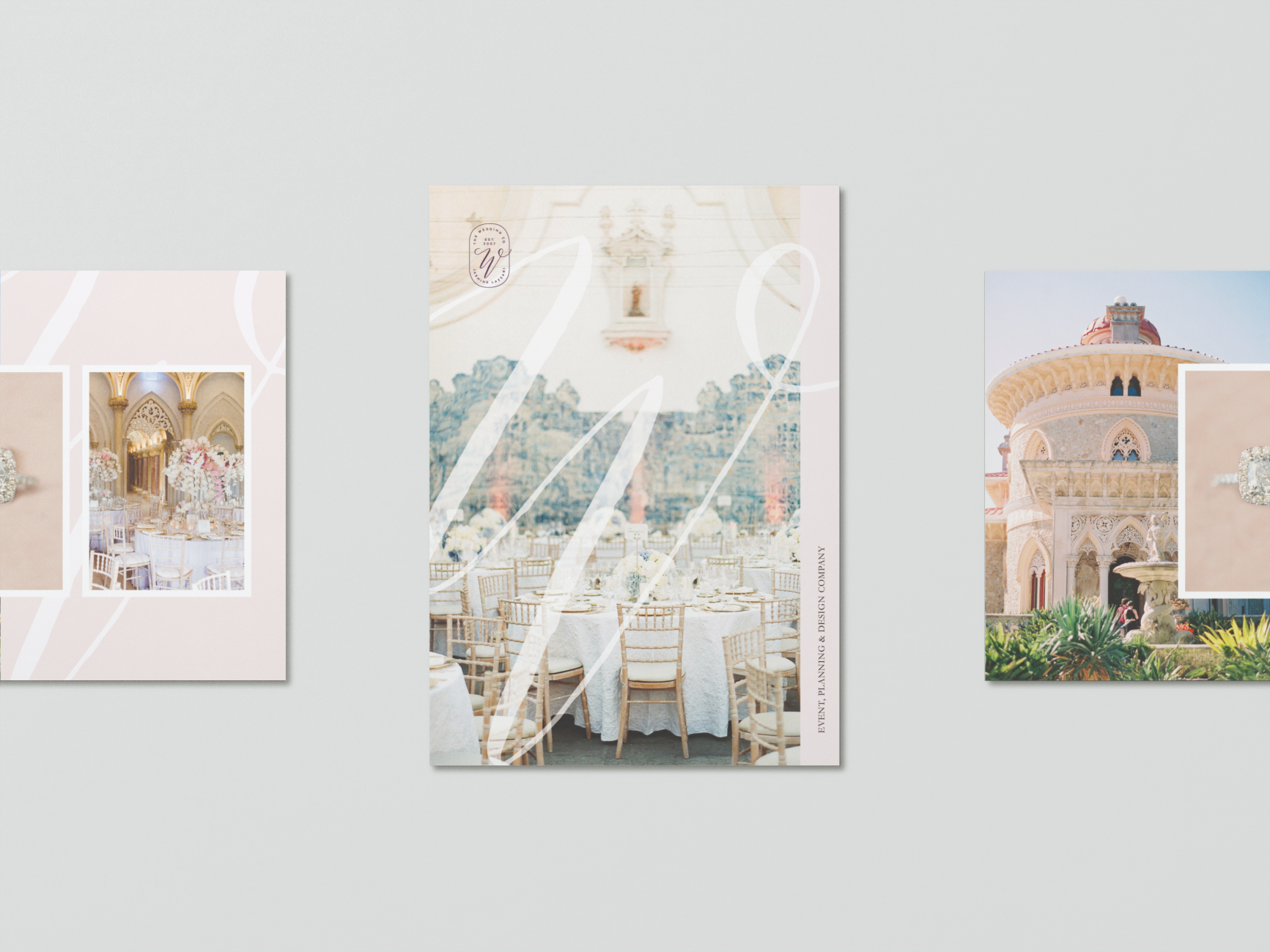 Catalog and brand design for a luxury wedding planner